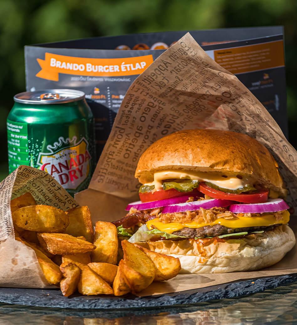 Brando Burger étlap